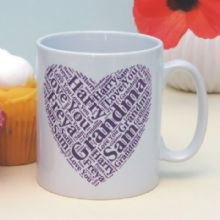 Personalised Name Mug - Unique Gift for a Parent or Grandparent